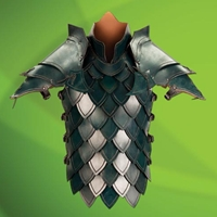 Green Elven Battle Armour
