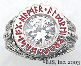 Diamond Dwarven Ring of Power