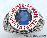 Sapphire Dwarven Ring of Power