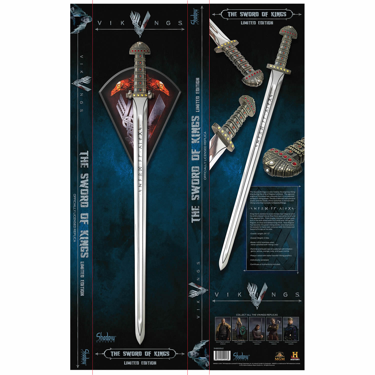 Vikings Sword of Kings Limited Edition