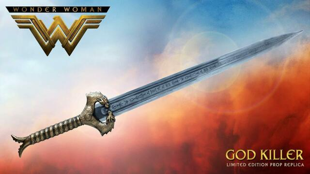 OFFICIALLY LICENSED LIMITED EDITION DC WONDER WOMAN SWORD