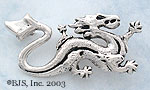 Wheel of Time Asha'man Dragon Pin Sterling Silver