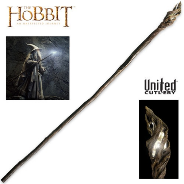 Illuminated Staff of the Wizard Gandalf