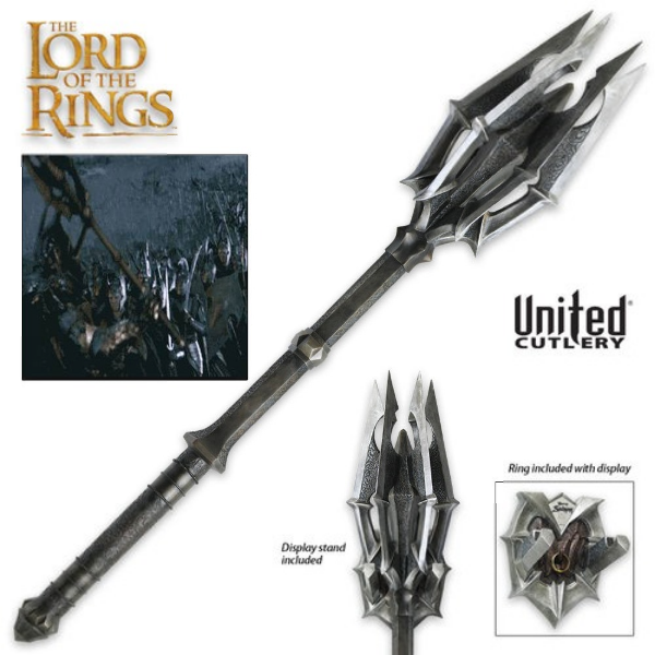The Hobbit: Mace of Sauron with One Ring
