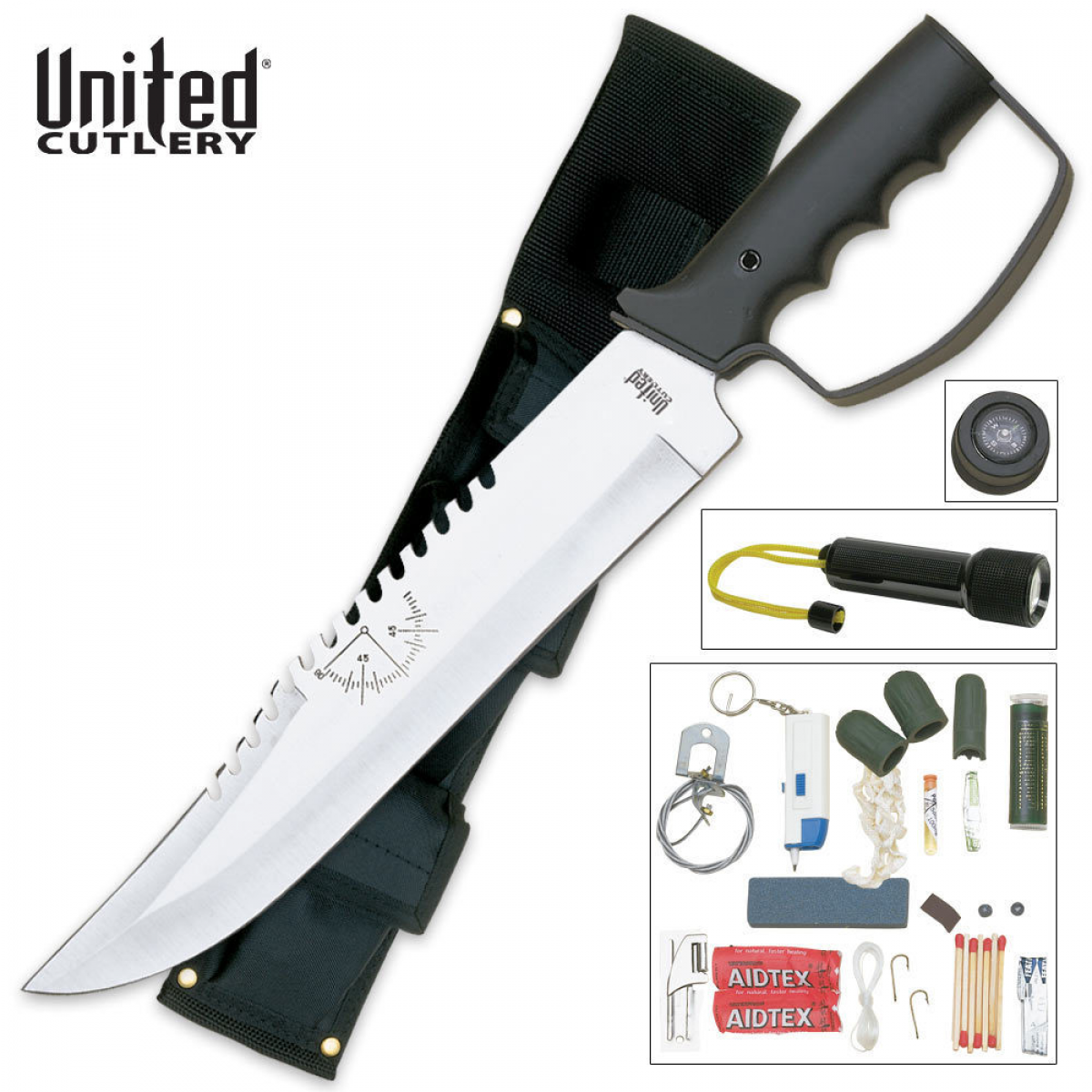 Bushmaster Survival Knife and Kit